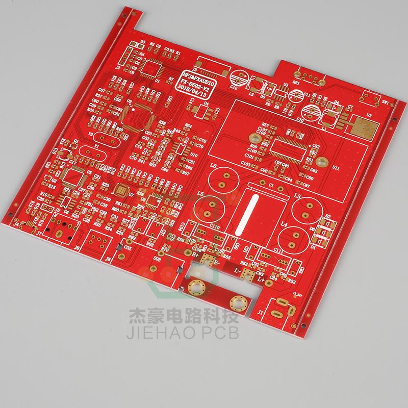 柔性线路板-无线路由器双面沉金主板