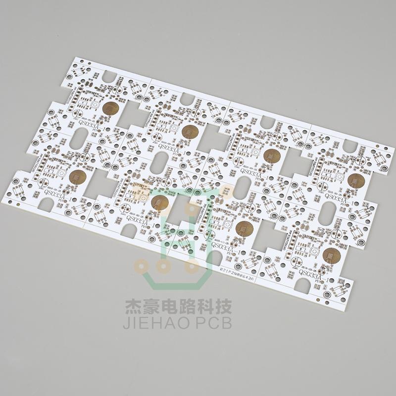 LED線路板-雙面白油電鎳板